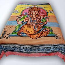 COUVRE-LIT COUVERTURE ganesh tissu déco tapisserie Décoration murale en coton