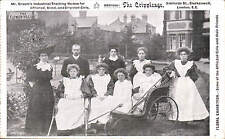 Clerkenwell. The Crippleage, Sekforde Street. Floral Exhibition. Afflicted Girls