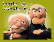 Sesame Street - STATLER & WALDORF - Flexible Fridge Magnet