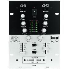 IMG STAGE LINE MPX-1/SW MIXER STEREO PER DJ 2 CANALI STEREO DJ-MIC CON TALKOVER