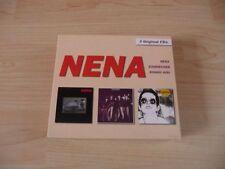 3 CD BOX Nena - 3 ORIGINAL CD: Nena + brise-glace + Bongo Girl