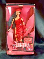 2003 Elektra Barbie Doll Marvel Comics Disney