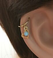 22G Handmade 14K Gold Filled Hammered Texture Nose Ring Hoop Cartilage Earring
