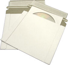 (5) CDBC06PB-ALT Paperboard CD Mailer Self Sealing with Flap DVD Media Shipping