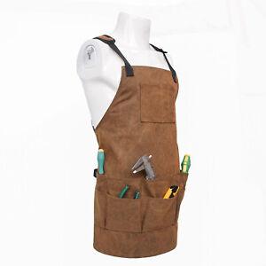 Adjustable Apron Tool Carrier Work Mechanic Repair Welding Apron For Women Man