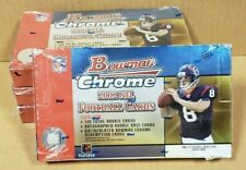 2002 BOWMAN CHROME NFL FOOTBALL HOBBY BOX (UNOPENED, FACTORY SEALED)