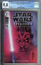 Star Wars: Episode I The Phantom Menace #3 CGC 9.8 1st Full App Darth Maul