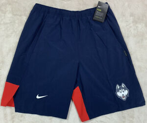 NWT'S Nike Dri-Fit Flex On-Field Uconn Huskies NCAA Shorts SZ M Player Sideline
