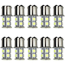 10x Cool White 1157 13SMD RV Camper Trailer LED Light Tail Brake Stop Bulbs 1141