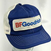 VTG Swingster BF Goodrich Patch Tries Trucker Mesh Snapback Cap Hat Made USA P
