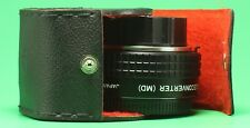 Zykkor Auto 2X Teleconverter (MD), Japan, Bayonet Mount USA Seller w/ case