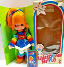 1983 Rainbow Brite In Original Box Included Is Her Very Own Story App. 18.5 in.