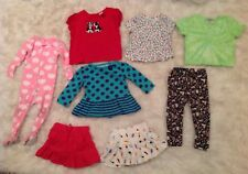 Girls 12-18 Months 8 Piece Spring Summer Mixed Clothing Lot Various Brands