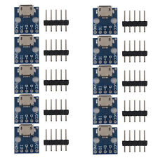 10x Female Micro USB to DIP Adapter Converter 2.54mm PCB Breakout Board DIY