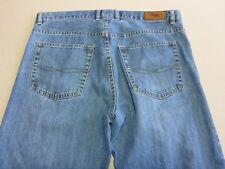 086 MENS EX-COND RODD & GUNN 'ROVER' STR8 LEG BLUE FADE JEANS 38 / --SHORT $210.