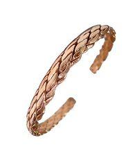 New Unisex Magnetic Pure Copper Bangel-Bracelet-Cuff Bangles Magnets Strong