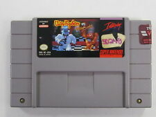 ClayFighter SNES (Super Nintendo Entertainment System, 1993) CLEANED & TESTED!