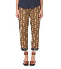 GORMAN Galaga Ikat Print Pants Size 8