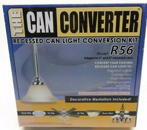 THE CAN CONVERTER R56 RECESSED CAN LIGHT CONVERSION KIT