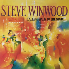 STEVE WINWOOD ‎- Talking Back To The Night(LP) (EX/EX-)