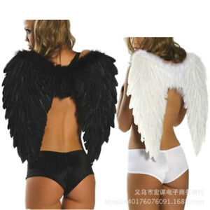 Angel Feather Wings for Adults Halloween Costume Stage Show Party Decoration