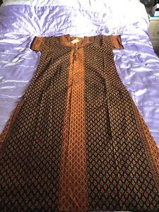 ladies long cotton kaftan