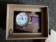 LADIES PINK WATCH By MANTARAY -   NEW -  BOXED  - white face