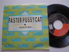 FASTER PUSSYCAT House Of Pain SPAIN PROM0 45 1989