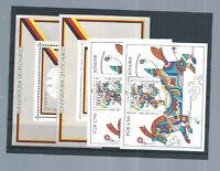 Bundesrepublik - 4 Blöcke - postfrisch