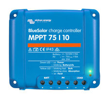 Victron BlueSolar MPPT 75/10 - Solar Charge Controller (75 Volts / 10 Amps)