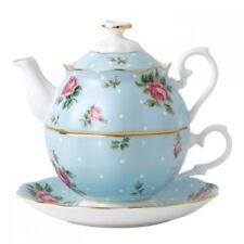 Royal Albert Tea For One Polka Blue
