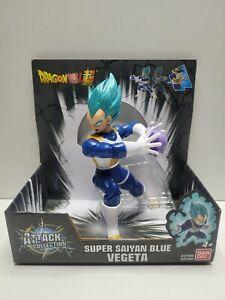 Dragon Ball Super Attack Collection Super Saiyan Blue Vegeta Figure In Hand NEW