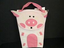 Mud Pie Insulated Pink Pig Lunch Bag, New