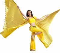Belly Dance WING Egyptian Isis wings Lame 360° & Opening Isis Wings (not Stick)