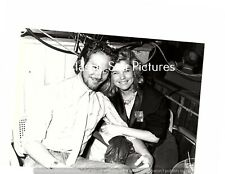 S58 Kate Vernon Chris Lemmon at Hollywood's Club Lingire 1985 7 x 9 candid photo