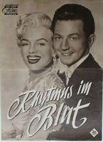 35331 el Nuevo Filmprogramm Rhythmus En Sangre 1954 Película Über Circo Familia