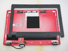Lenovo 100S  Complete Assembly  LCD Screen LID Cover Hinges (RED)