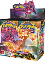 Pokemon TCG Sword & Shield Darkness Ablaze Booster Box 36 Booster Packs