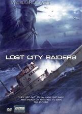 LOST CITY RAIDERS [DVD Region 3] Ian Somerhalder, Global Warming Sci-fi Drama