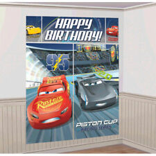 Disney Cars 3 Scene Setter Wall Decoration Poster Boy's BIRTHDAY Party Supplies