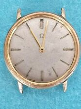 Vintage Omega 131.019 manual winding 601 caliber for Parts doesn't work