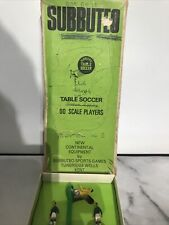 More details for vintage subbuteo table soccer 00 scale players - boxed