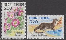 ANDORRA - 1990 Nature Protection (2v) - UM / MNH