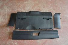 Honda CRX Civic 90-92 JDM SiR VT EF8 EE8 Mk2 Black Rear Plastic Trim Plastics