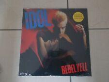 Billy Idol - Rebel Yell - LTD EDT COLOURED Vinyl LP - REISSUE - NEW - SEALED
