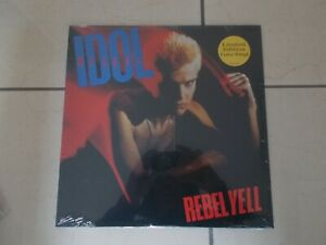 Billy Idol - Rebel Yell - LTD EDT COLOURED Vinyl LP - REISSUE - NEW - SEALED