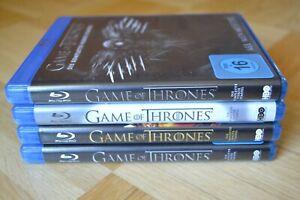 Game of Thrones Staffel 1 , 2 , 3 und 4, Blu-ray