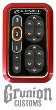 AccuAir eLevel Bezel Mount Billet Anodized RED Touchpad Air Bag Ride Suspension