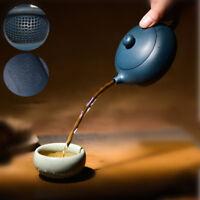 Marked tea pot handmade ball-shaped holes Chinese yixing zisha republic tea pot