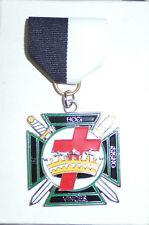 Medieval Crusades Knight Templar Masonic Card Jewel Token Medal Badge Uniform KT